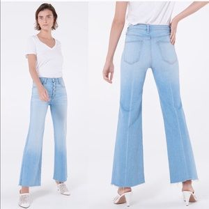 "Veronica Beard Kirra 11"" Flood Length Jeans"